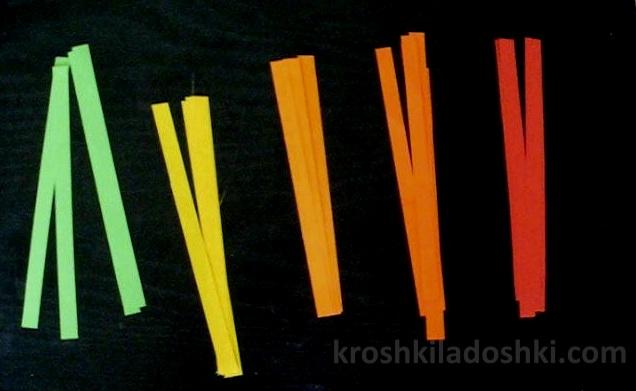 поделки из бумаги на тему осени