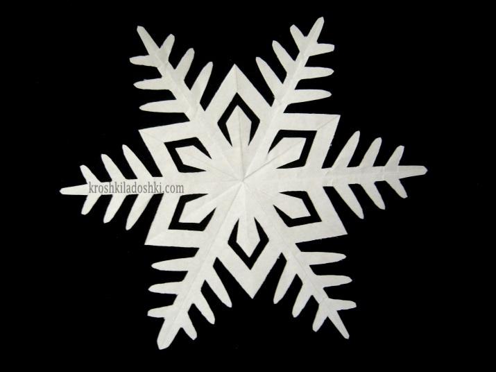 снежинки своими руками