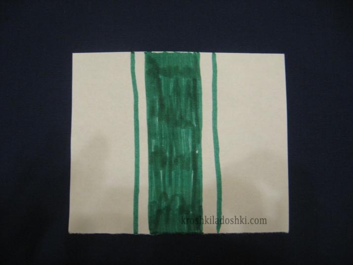 подснежник из бумаги своими руками