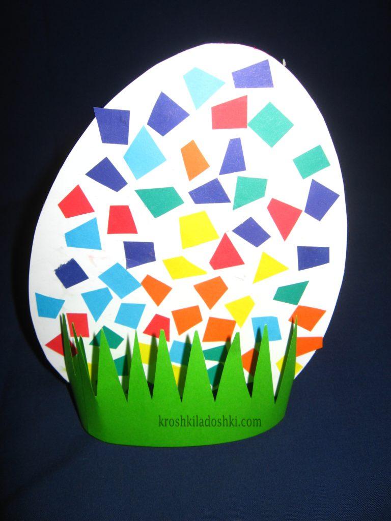 поделка пасхальное яйцо в детский сад