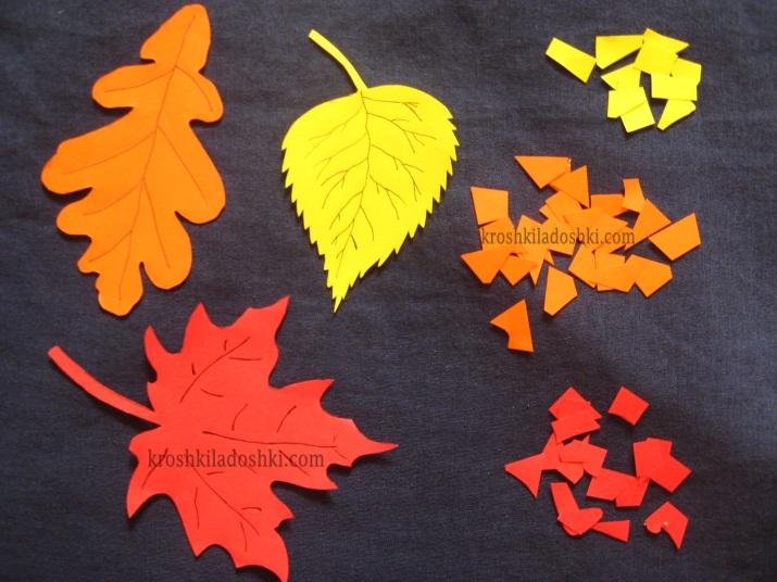поделки в садик на тему осень