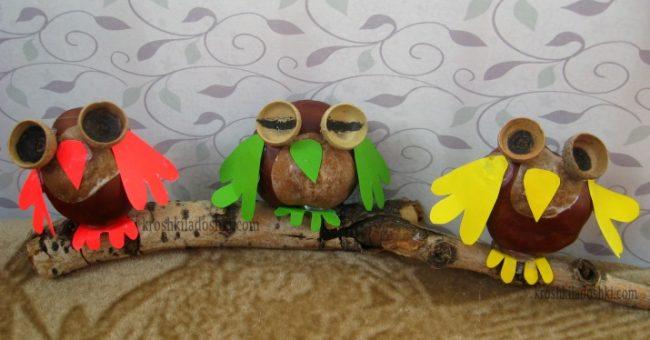 поделка сова