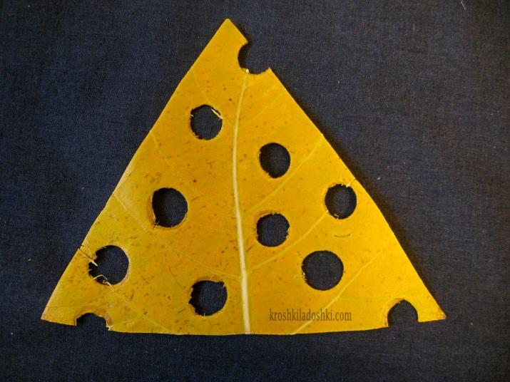 сыр из листьев