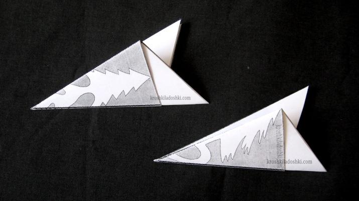схема снежинки елочка