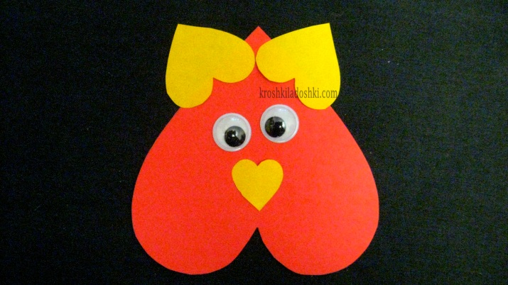 валентинка для малышей