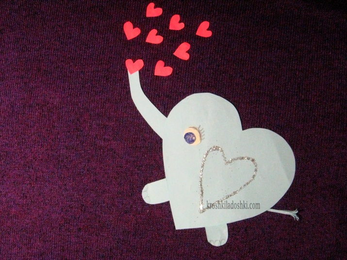 аппликация слоник