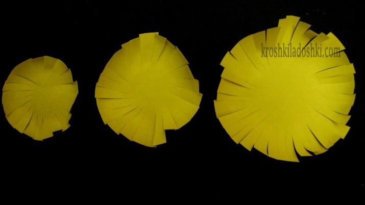 как сделать цветок одуванчика из бумаги