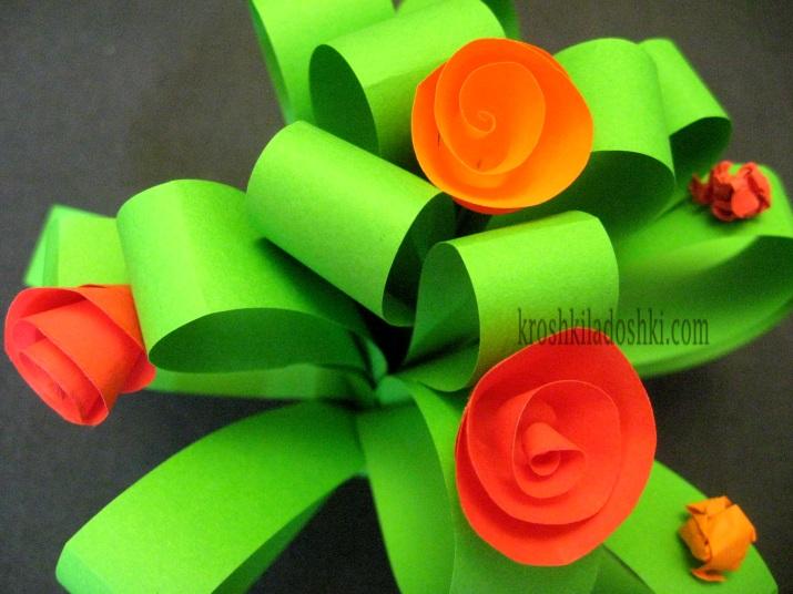 букет цветов для мамочки своими руками