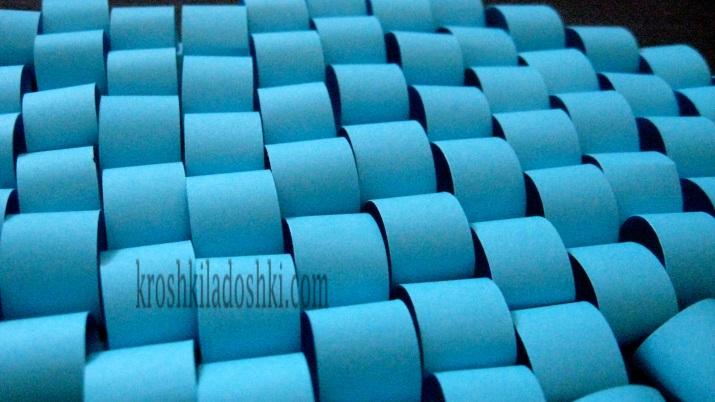 поделки из бумажных колечек