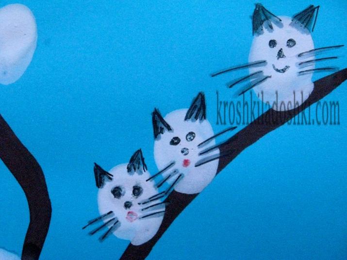 котики расцвели