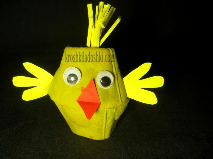 цыпленок поделка