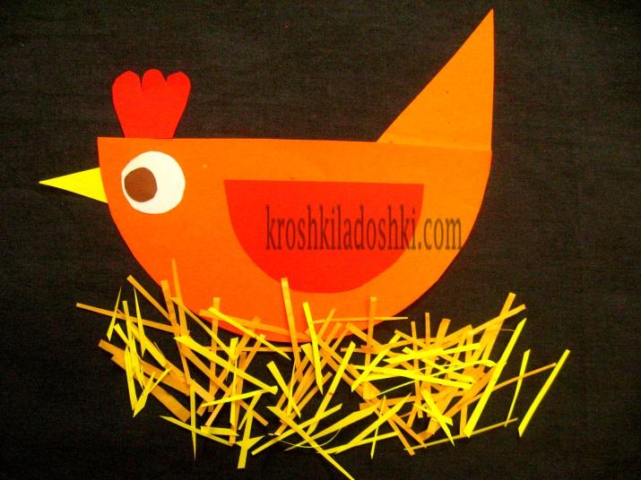 мастер-класс пасхальная курица