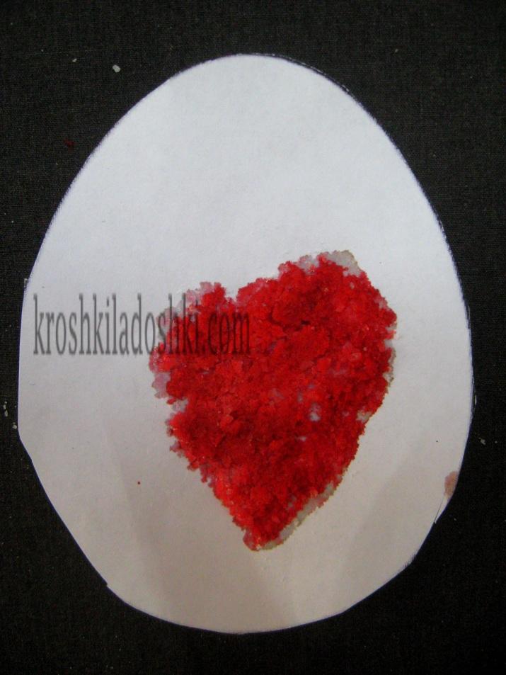 рисунки с солью для детей