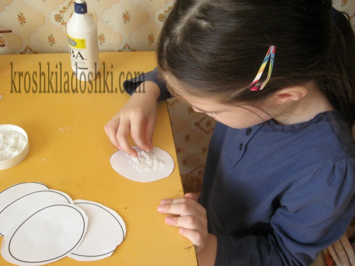 мастер-класс рисования солью