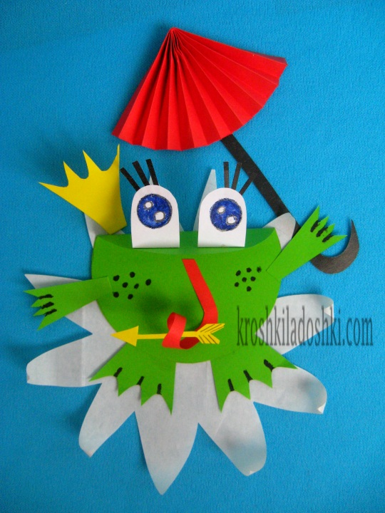 царевна лягушка своими руками