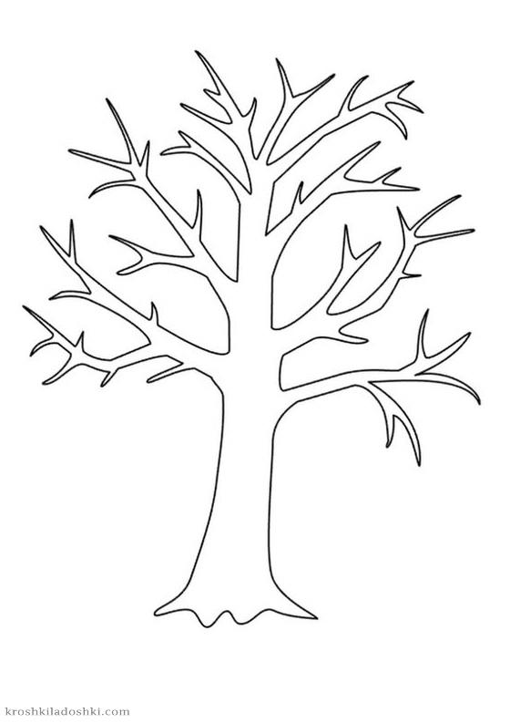 шаблон дерева для аппликаций