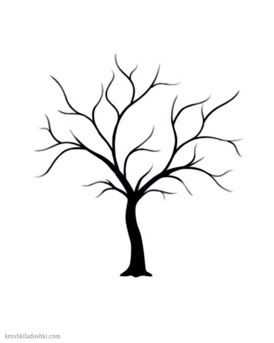 шаблоны деревьев для аппликаций