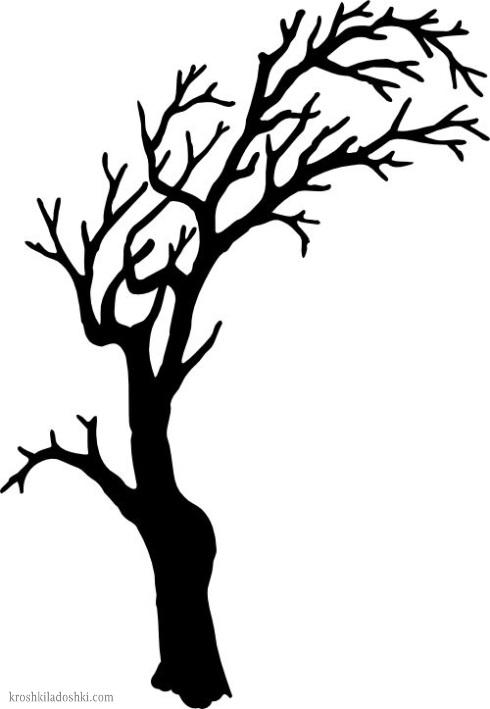 макет дерева шаблон