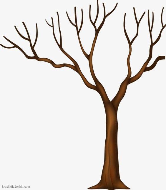 шаблоны деревьев для вырезания