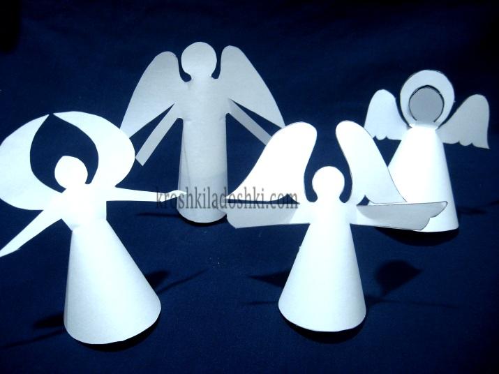 шаблоны ангелов