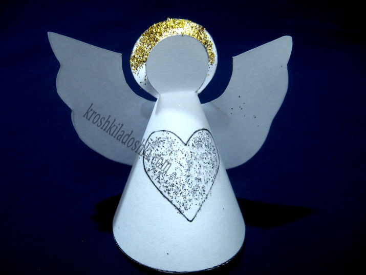 ангел из бумаги своими руками