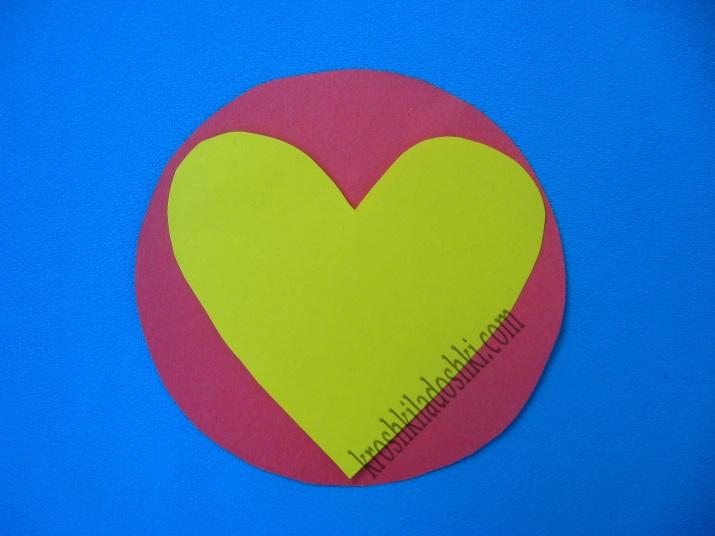 поделки из сердечек