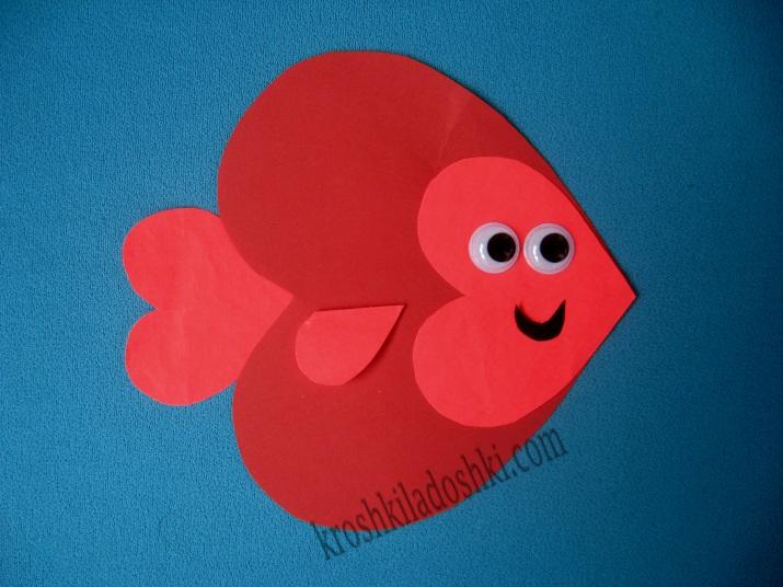 аппликация рыба