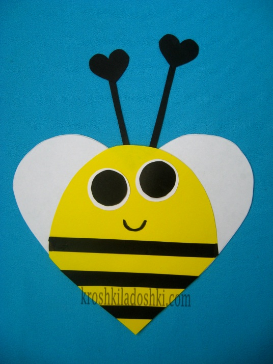 аппликация пчелка