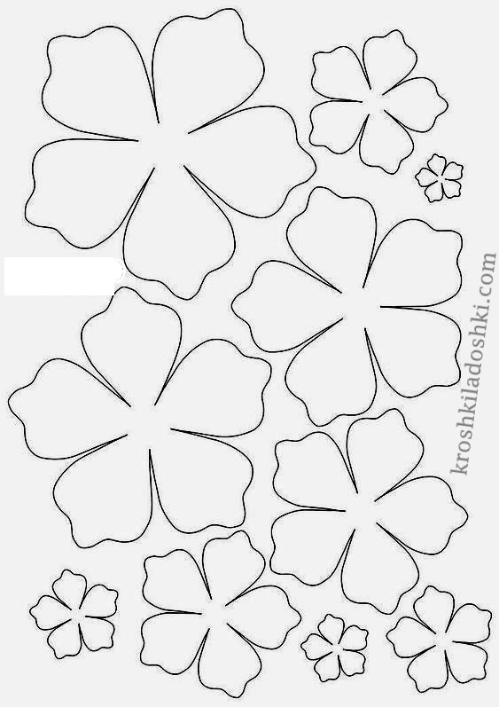 цветы для аппликации