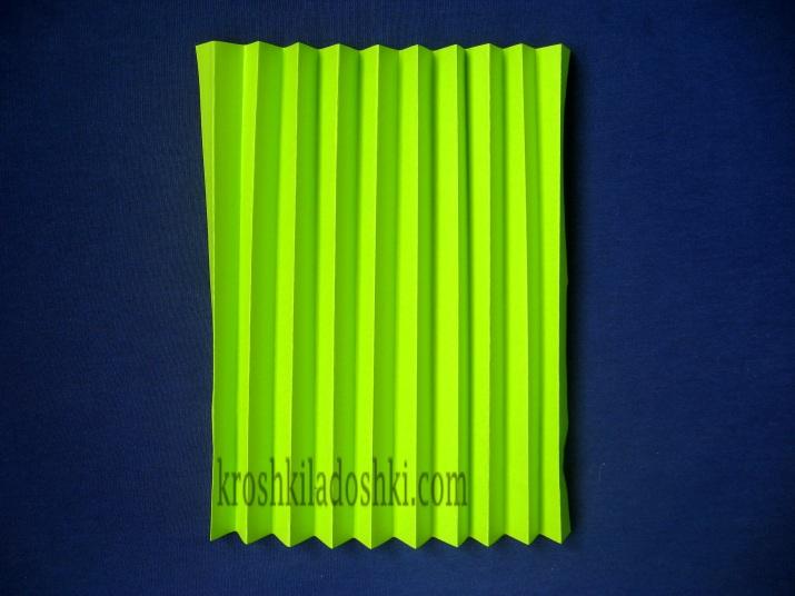 как сделать веер из бумаги