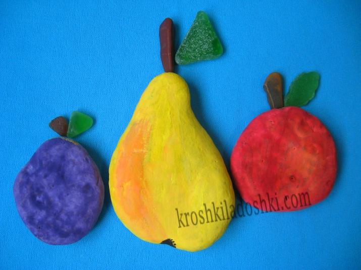 фрукты из камней