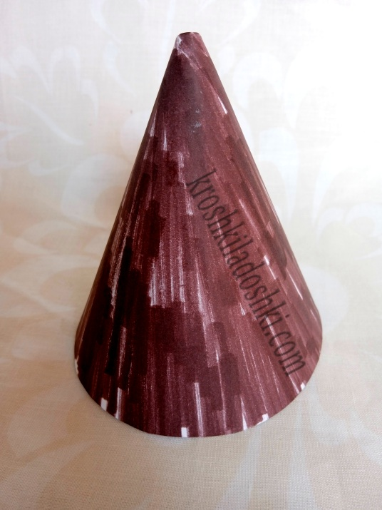 как сделать ствол дерева из бумаги