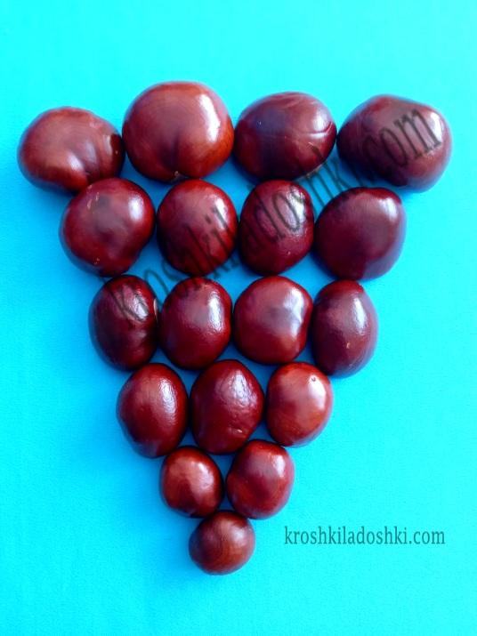 поделка виноградная гроздь