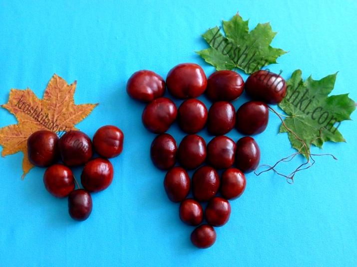 поделка виноград